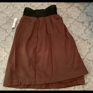 Ladies brown old navy shirt size small NWT